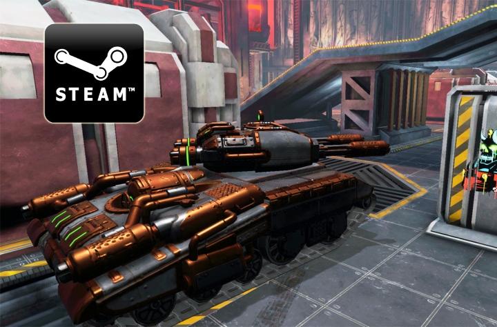 Tanki X уже 20 апреля станет доступен пользователям сервиса Steam